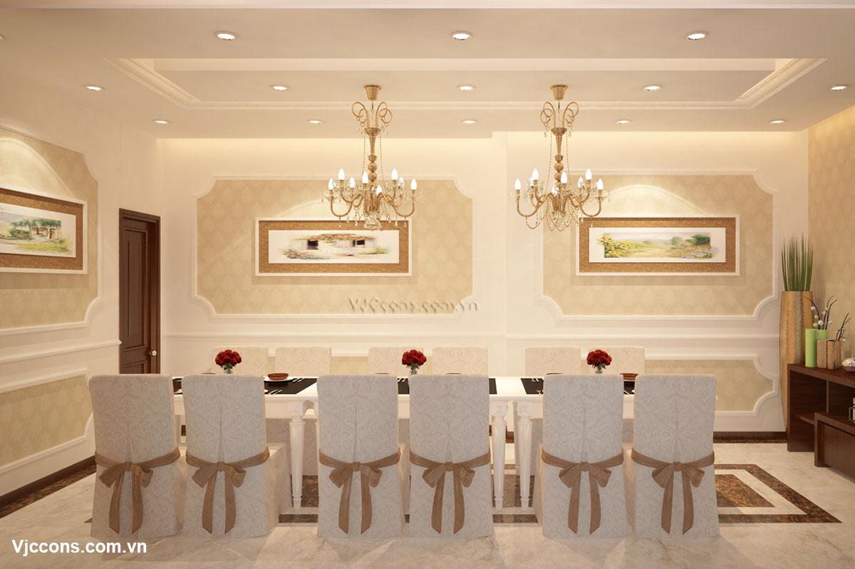 nhà hàng phong cách cổ điển