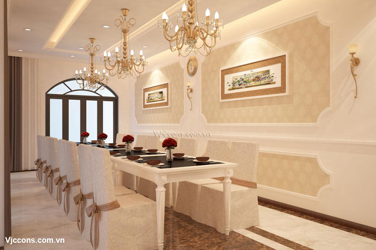 phòng ăn nhà hàng đẹp