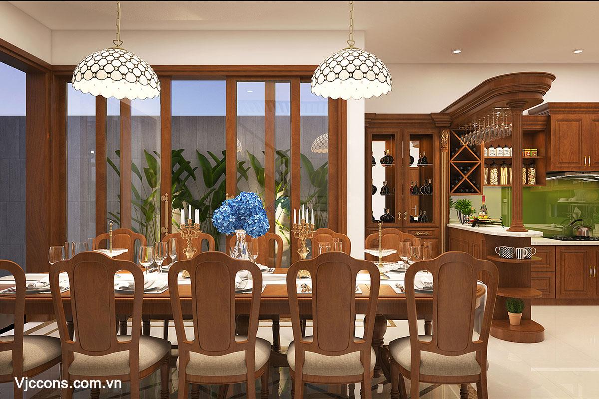 phòng ăn đẹp đà nẵng