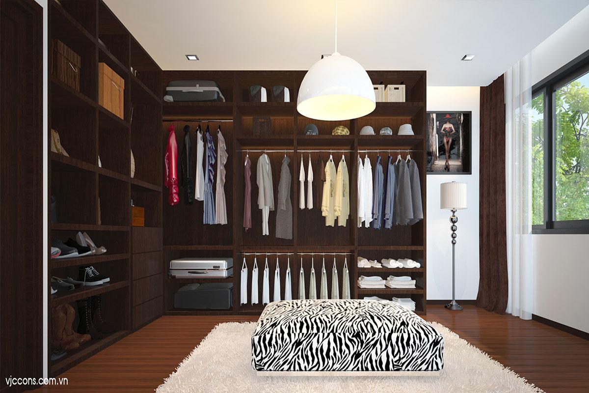 nội thất phòng thay đồ